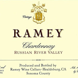 Ramey Wine Cellars Russian River Chardonnay California, 2017, 750
