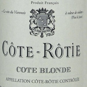Rene Rostaing Cote Blonde Cote Rotie France, 2018, 750