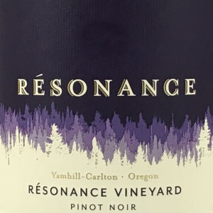 Resonance Vineyard Pinot Noir, 2013, 750