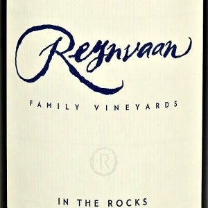 Reynvaan in the Rocks Estate Syrah Walla Walla Valley Washington, 2016, 750