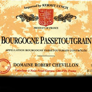 Robert Chevillon Bourgogne Passetoutgrain Burgundy France, 2015, 750