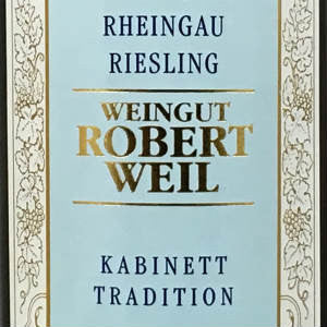 Robert Weil Riesling Kabinett Traditional Rheingau Germany, 2018, 750