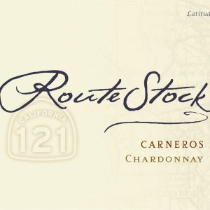 Routestock Chardonnay Route 121 Carneros , 2017, 750