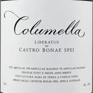 Sadie Family Columella Red Blend South Africa, 2014, 750