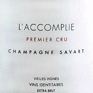Savart L'Accomplie Brut Champagne, NV, 750