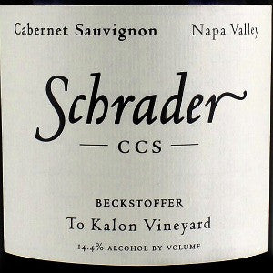 Schrader CCS Beckstoffer To Kalon Vineyard Napa Valley, 2006, 750