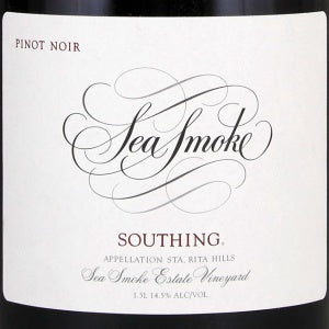 Sea Smoke Southing Pinot Noir Santa Rita Hills California, 2018, 750