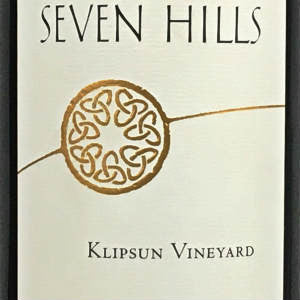 Seven Hills Klipsun Vineyard Red Wine Red Mountain Washington, 2013, 750