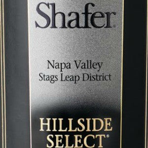 Shafer Hillside Select Napa Cabernet Sauvignon, 2010, 750