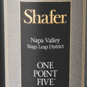 Shafer One Point Five Cabernet Sauvignon Stags Leap California, 2012, 750