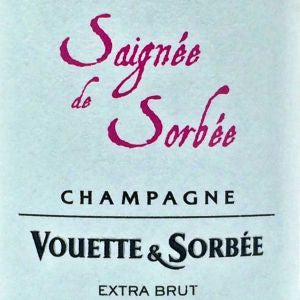 Vouette et Sorbee Saignee de Sorbee Champagne France,NV, 750