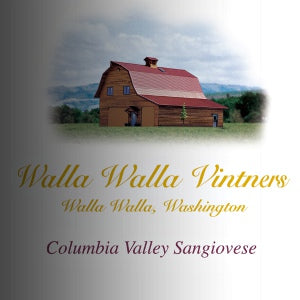 Walla Walla Vintners Sangiovese Columbia Valley Washington, 2016, 750