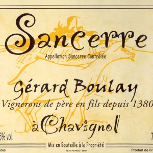 Gerard Boulay Sancerre a Chavignol France, 2017, 750