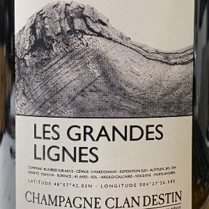 Champagne Clandestin Les Semblables (Boreal) France, NV, 750