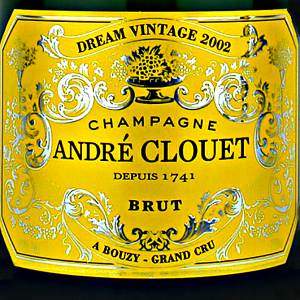 Andre Clouet Dream Vintage Champagne France, 2002, 750