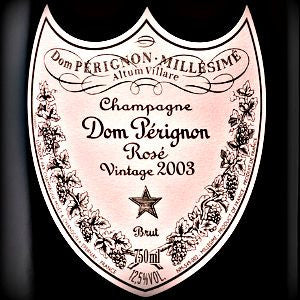 Moet & Chandon Dom Perignon Rose Champagne France, 2003, 750