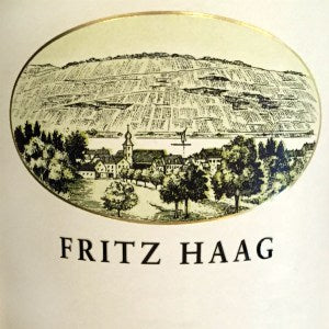 Fritz Haag Riesling Spatlese Brauneberger Juffer Sonnenuhr Germany, 2015, 750