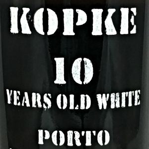 Kopke 10 year old White Port Portugal, NV, 750