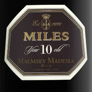 Miles Madeira Malmsey 10 year Portugal, 750