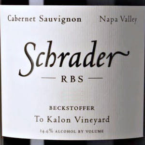 Schrader RBS Beckstoffer To Kalon Vineyard Napa Valley, 2006, 750