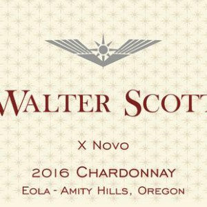 Walter Scott Ex Novo Chardonnay Willamette Valley Oregon, 2016, 750