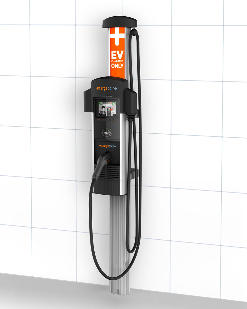 ChargePoint CT4013 Single Plug Wall-Mount Add-On Charging Station
