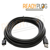 ReadyPlug USB Cable Compatible with Logitech Ultrathin Keyboard for iPad Air 920-005510, 920-005519