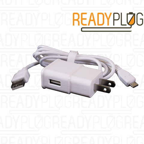 ReadyPlug® USB Charger for Samsung Galaxy Tab A 10.1 SM-T580 T585 P580 858 Tablet