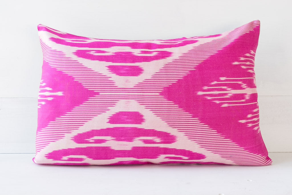 SILK IKAT PILLOW 10