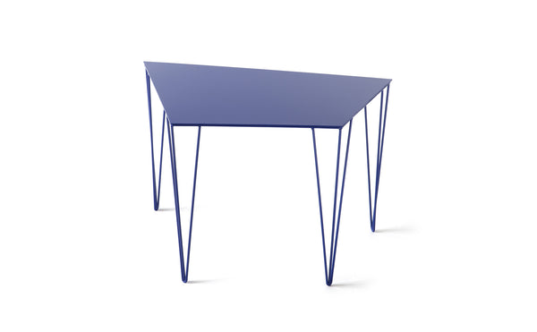 ATIPICO ULTRAMARINE BLUE CHELE METAL END TABLE