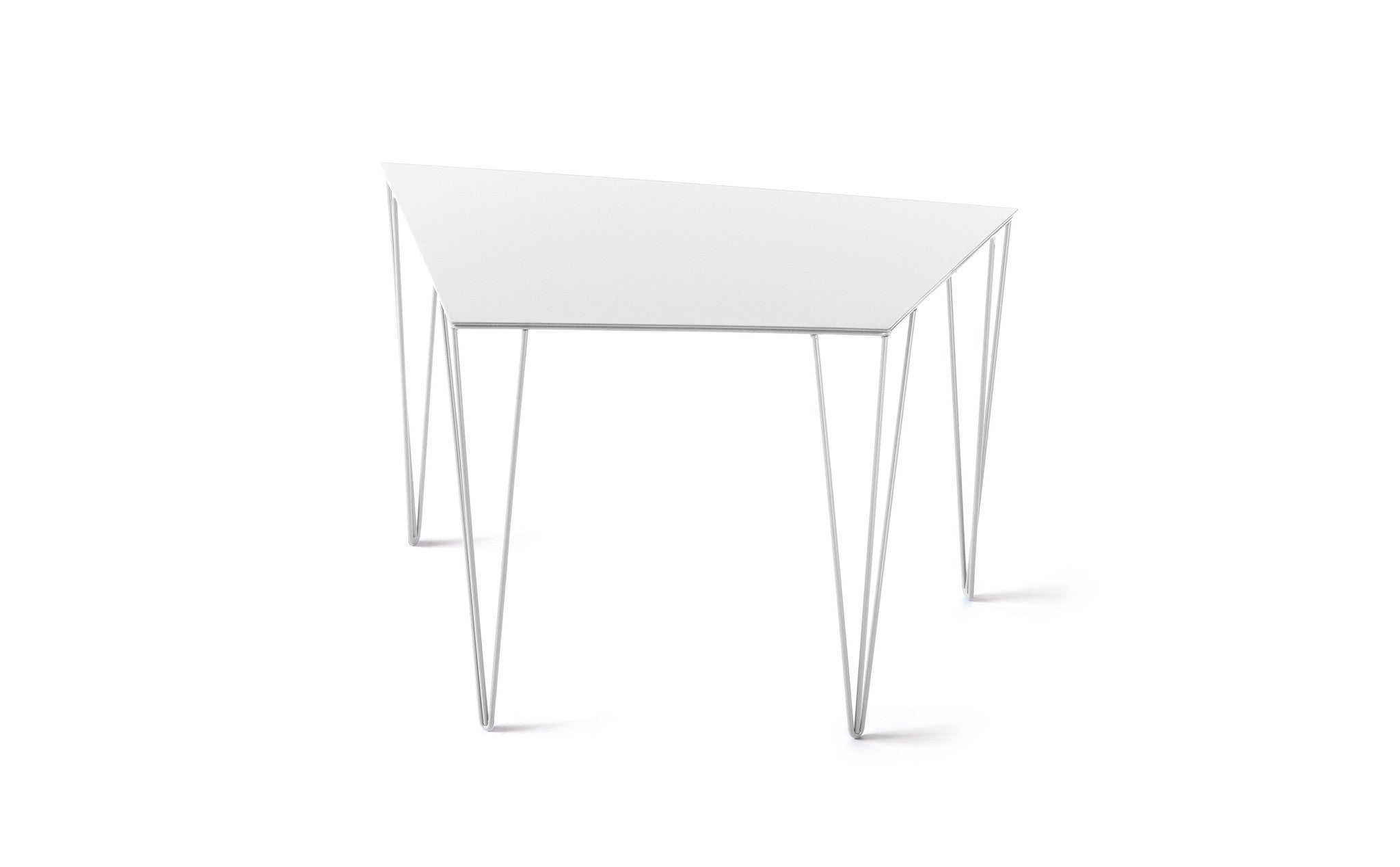 ATIPICO SIGNAL WHITE CHELE METAL END TABLE