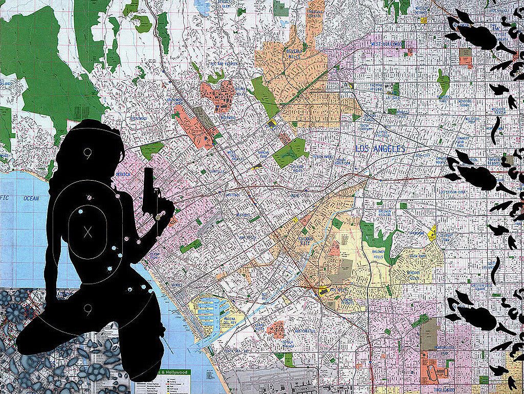CITY OF ANGELS (MAP OF GREATER LOS ANGELES), RISK STUDIO