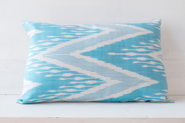 SILK IKAT PILLOW 9