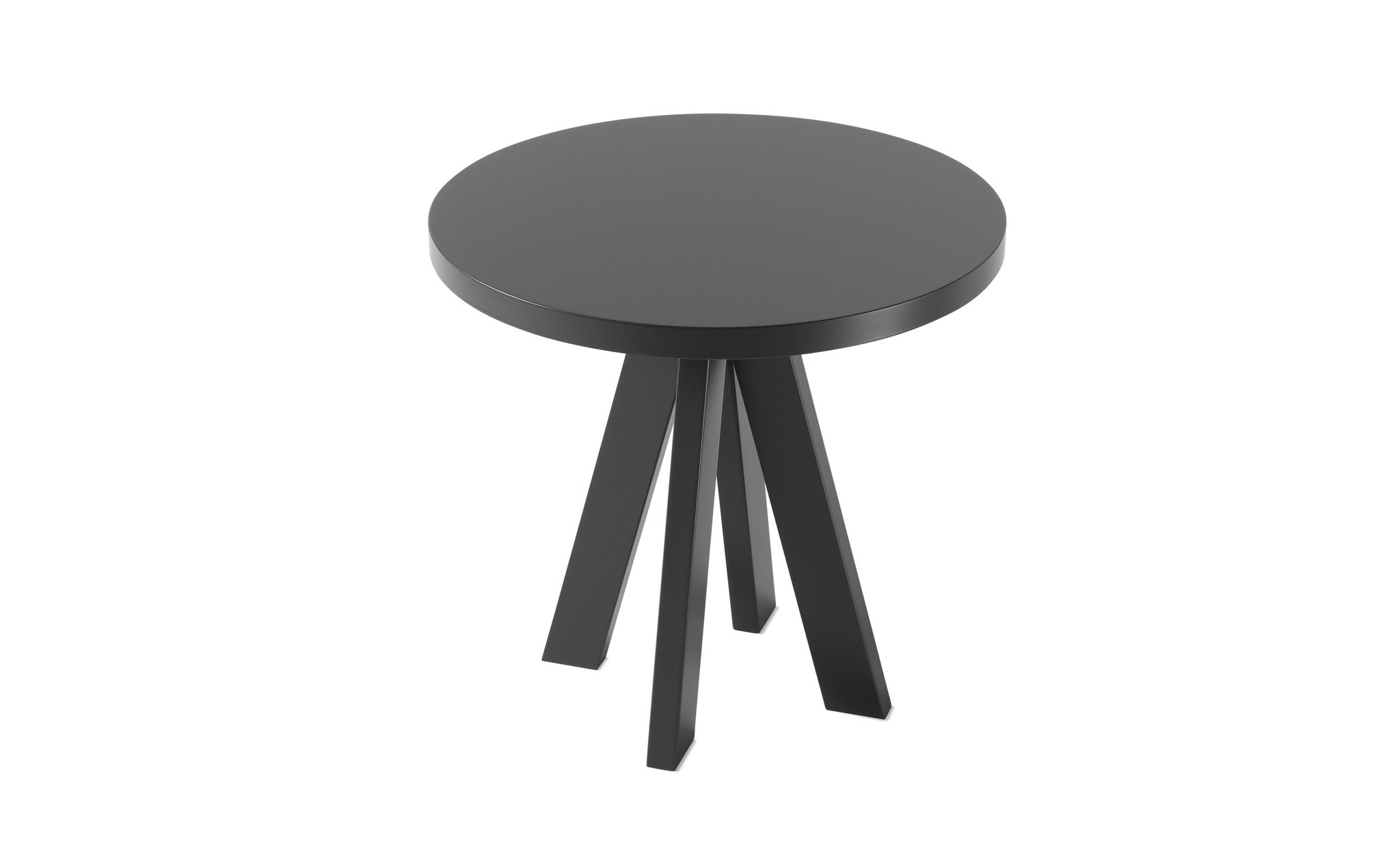 A.NGELO TRAFFIC GREY ROUND SIDE TABLE