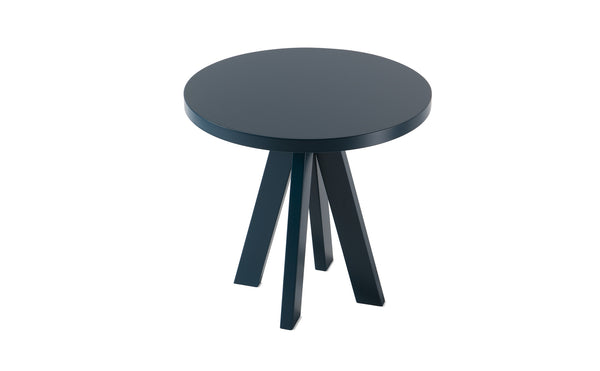 A.NGELO OCEAN BLUE ROUND SIDE TABLE