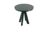 A.NGELO MOSS GREEN ROUND SIDE TABLE