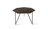 ATIPICO TERRA METAL COFFEE TABLE IN CAMOUFLAGE/NATURAL