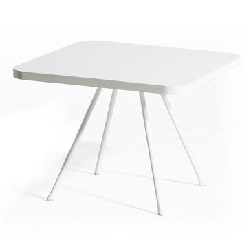 ATTOL SQUARE SIDE TABLE WHITE