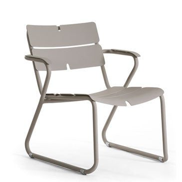 CORAIL LOUNGE ARMCHAIR - GREY