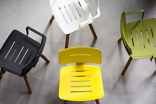 COCO CHAIR - LEMON, ANTHRACITE, WHITE, OLIVE GREEN