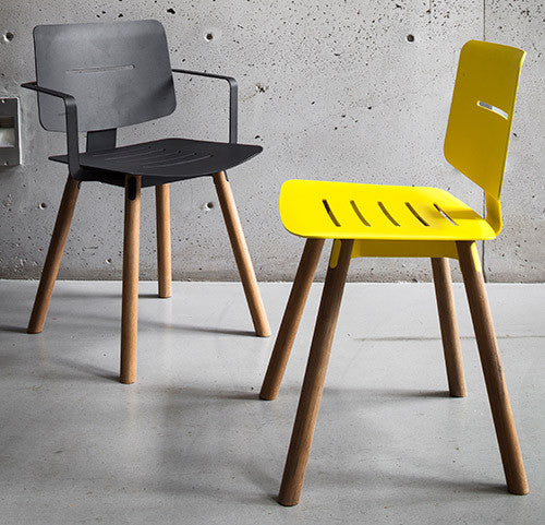 COCO CHAIR - LEMON & ANTHRACITE