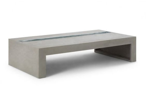 GREEN RECTANGULAR COFFEE TABLE
