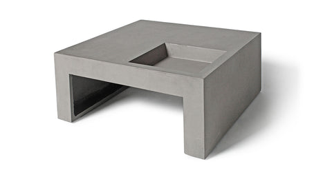 GREEN SQUARE COFFEE TABLE