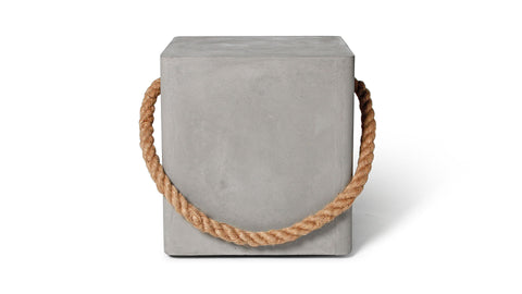 EDGE STOOL - ROPE & WHEELS