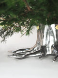 THE ROOT CHRISTMAS TREE HOLDER -  SILVER