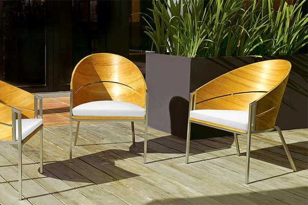 GRACE CURVED BACK LOUNGE CHAIRS