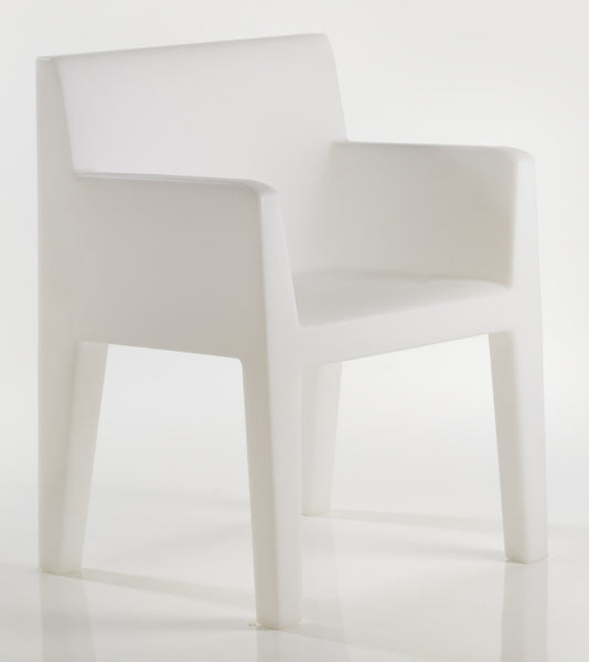 ICE COLOR SAMPLE ON JUT DINNING ARMCHAIR