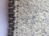 GREY  HYDRA MERINO WOOL & SILK THROW
