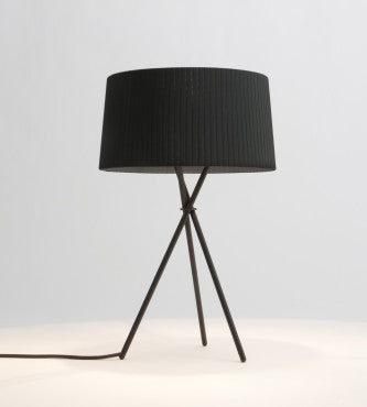 BLACK TRIPODE TABLE LAMP