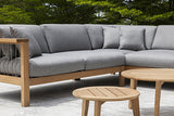 MARO OUTDOOR SECTIONAL SOFA IN FLAGSHIP VAPOR